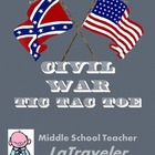 Civil War Tic-Tac-Toe Choices