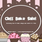 Class Bake Sale (Reviewing how to make change one sweet at