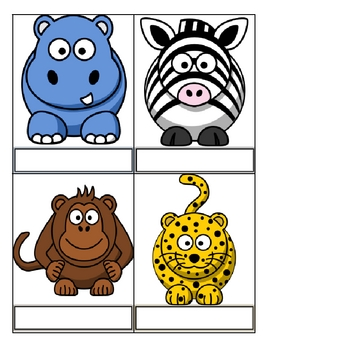 Class Behavior Chart - Wild Animal, Safari, or Jungle Theme