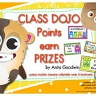 Class Dojo Prize Points Posters and Booklet