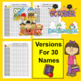 Class List Templates-Up To 25 Names-3 Graphics-Year After Year