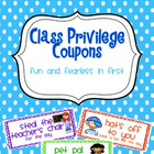 Class Privilege (Reward) Coupons