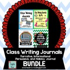 Class Writing Journals Bundle - Sets 1, 2, and 3!