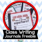 Class Writing Journals- Persuasive Writing Freebie