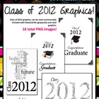 Class of 2012 Graphics for Commercial Use