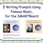 Classical Music Writing Prompts for the SMARTBoard