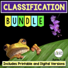 Classification and Taxonomy Complete Unit Plan Bundle of Products