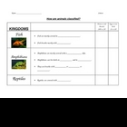 Classifying Animals into Fish, Amphibians, Reptiles, Birds