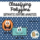 Classifying Polygons: A Common Core Semantic Feature Analy