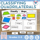 Classifying Quadrilaterals CCSS Aligned (G.1 and G.2)