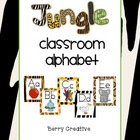 Classroom Alphabet ~ Jungle Theme