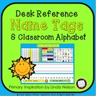 Classroom Alphabet and Study Buddy Nametags
