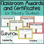 Classroom Awards &amp; Certificates for Primary Students {Chevron}