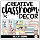Classroom Beach Theme Decor