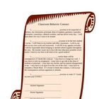 Classroom Behavior Contract