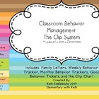 Classroom Behavior Management: The Clip System