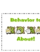 "Classroom Behvavior System ""Behavior to Roar About!"""