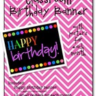 Classroom Birthday Poster Set