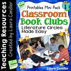 Classroom Book Clubs: Literature Circles Made Easy Printables