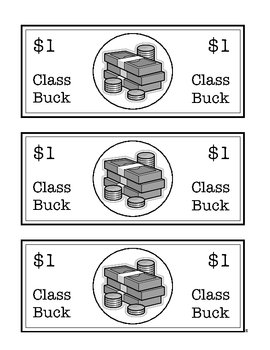 Classroom Bucks Incentive Management Plan