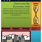 Classroom City All - Inclusive Economics Unit