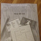 Classroom Classics Player&#039;s Notebook for Macbeth