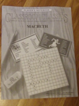 Classroom Classics Player's Notebook for Macbeth