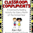 Classroom Compliments {A Community Building Activity}
