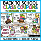 Classroom Coupons-50+ Coupons to Reward and Inspire