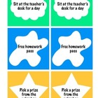 Classroom Coupons (Classroom Reward System)