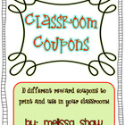 Classroom Coupons Freebie!