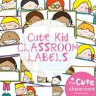 Classroom Decor - Labels & Signs - Kids with Frames
