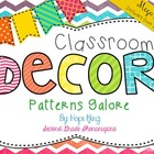 Classroom Decor Mega Bundle: Patterns Galore {WHITE}