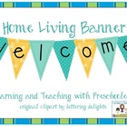 Classroom Design Welcome Banner