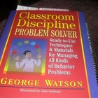 Classroom Discipline Problem Solver