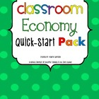 Classroom Economy Quick-Start Pack With Different Themed &quot;Cash&quot;