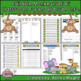 Classroom Forms and Substitute Info. - Jungle/Safari/Monkey Theme