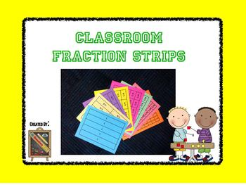 Classroom Fraction Strip Sets