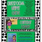 Classroom Helper Cards (Green/Black Dots)