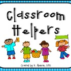 Classroom Helpers: A Classroom Job Set