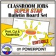 Classroom Helpers Super Star Bulletin Board Set