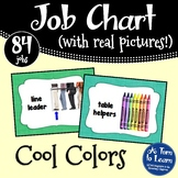 Classroom Job Chart with Pictures