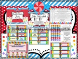 Classroom Jobs Candy Theme