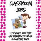 Classroom Jobs Cards