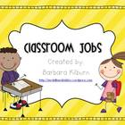 Classroom Jobs {FREE}