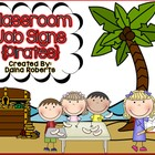Classroom Jobs {Pirates}