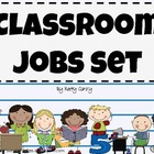 Classroom Jobs Set: 33 Labels