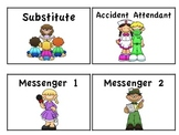 Classroom Jobs for Elementary