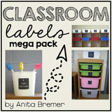 Classroom Labels Mega Set {tags}