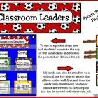 Classroom Leaders Job Sports Theme